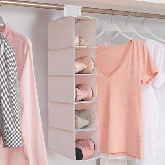 2X $20 ❤️ Mainstays 5 Shelf Closet Organizer,